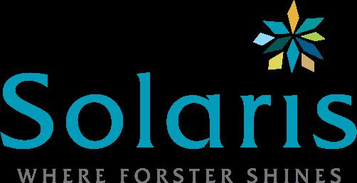 Solaris Living – Where Forster Shines Logo
